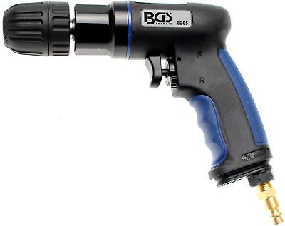 BGS Druckluft Bohrmaschine Schnellspann-Bohrfutter Bohren Druckluftbohrmaschine