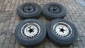 VW T3 Kompletträder 4x Sommerreifen Felgen 5.5J14  185 14C DOT1208 Bridgestone