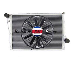 Alluminio-Radiatore-Per-2001-2006-BMW-E46-M3-3-2L-I6-14-034-Ventola