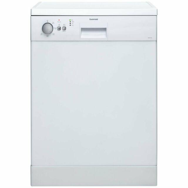 Euromaid 60cm Freestanding Dishwasher EDW14W