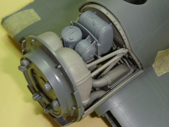 "GMALB3202 1//32 CORSAIR F4U-1 /""BIRDCAGE/"" ENGINE ACCESSORY BAY TAMIYA TRUMPETER"