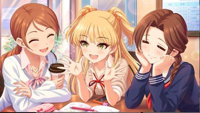 4SSR /<Starter Account/> Idolmaster Cinderella Girls Starlight Stage ANZU