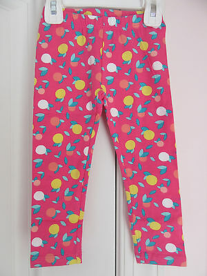 New Gymboree Girls Mix N Match Coral Leggings Pants Size 3T NWT