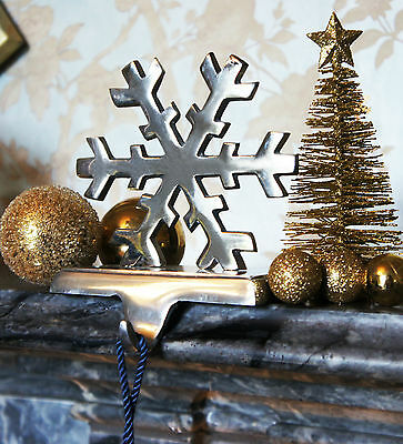 Snowflake Stocking Holder - Perfect Christmas Decoration