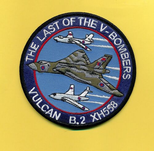 Vulcan B.2 XH558 embroidered patch New