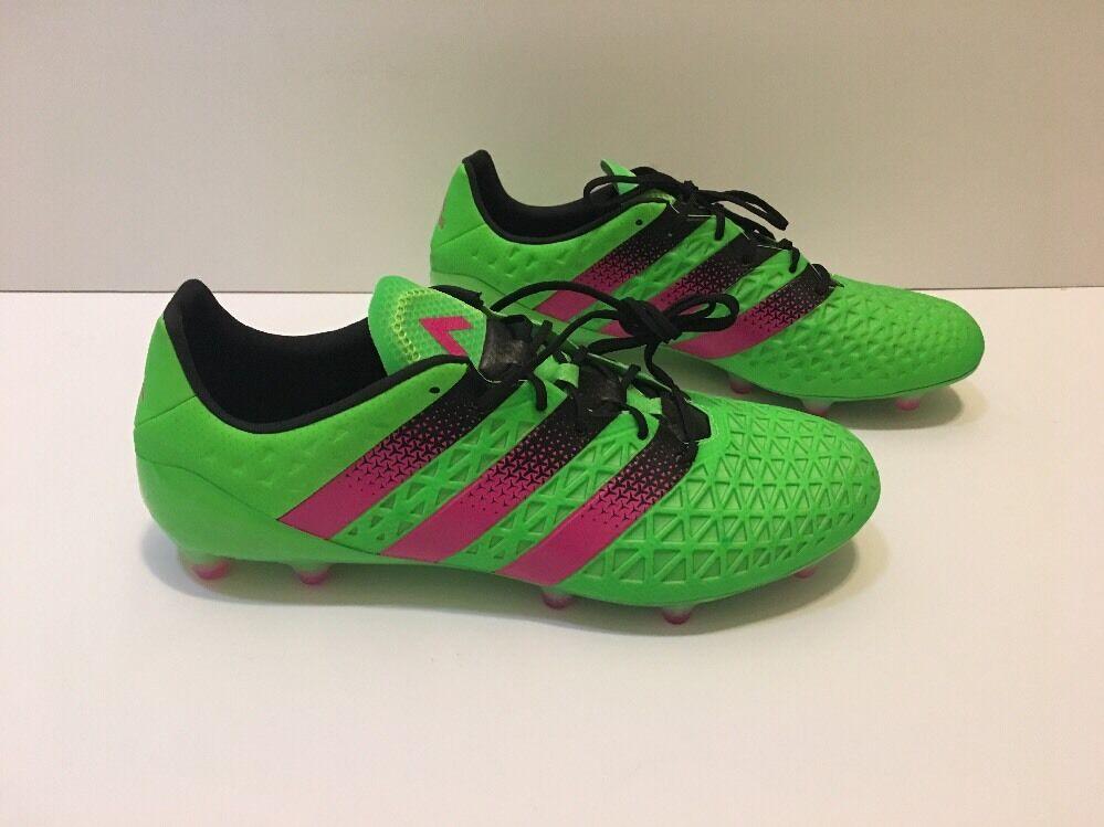 Adidas Ace 16.1 Solar FG/AG SZ 10.5 Men's Soccer/Futbol Cleats Solar 16.1 Green NEW 2d3ec0