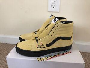 9d98c895faaa Vans SK8-Hi ATCQ A Tribe Called Quest Yellow Black Mens sizes ...