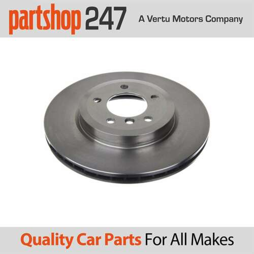 EuroBrake Front Vented Brake Discs Pair Set 5815201543