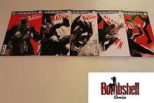 All Star Batman 1 2 3 4 5 Complete Jock Variant Comic Lot Run Set 1st Print DC