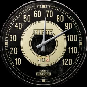 Harley Davidson Speedometer Style Wall Clock Birthday Gift Man Cave
