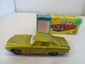 Vintage Corgi 241 Ghia L.6.4 in Original Box