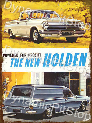 30x40cm Holden Statesman SLE Rustic Tin Sign or Decal