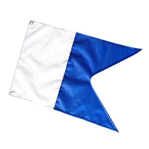 Scuba Diving Boat Alpha Flag National Banner International Signal 50 x 35 cm