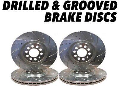 MG TF 115 1.6 16v Front Drilled Grooved Brake Discs