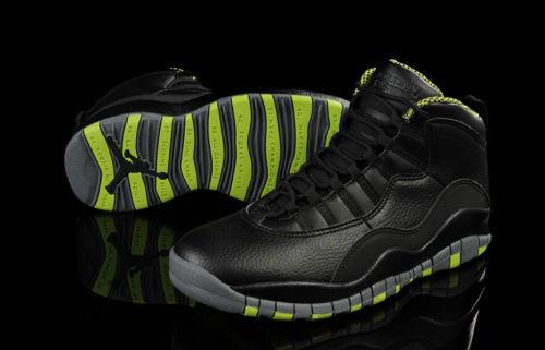 Real Nike Air Jordan 10 Venom Green