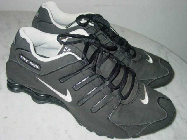 2013 Mens Nike Shox NZ SL Black/White Running Shoes! Size 10.5 $160.00