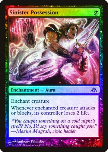 Sinister Possession FOIL Dragon/'s Maze NM-M Black Common MAGIC MTG CARD ABUGames