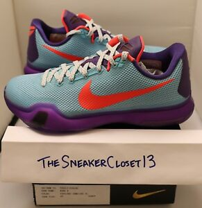 new concept fc094 6c09e Image is loading New-DS-Nike-Kobe-X-10-Promo-Sample-