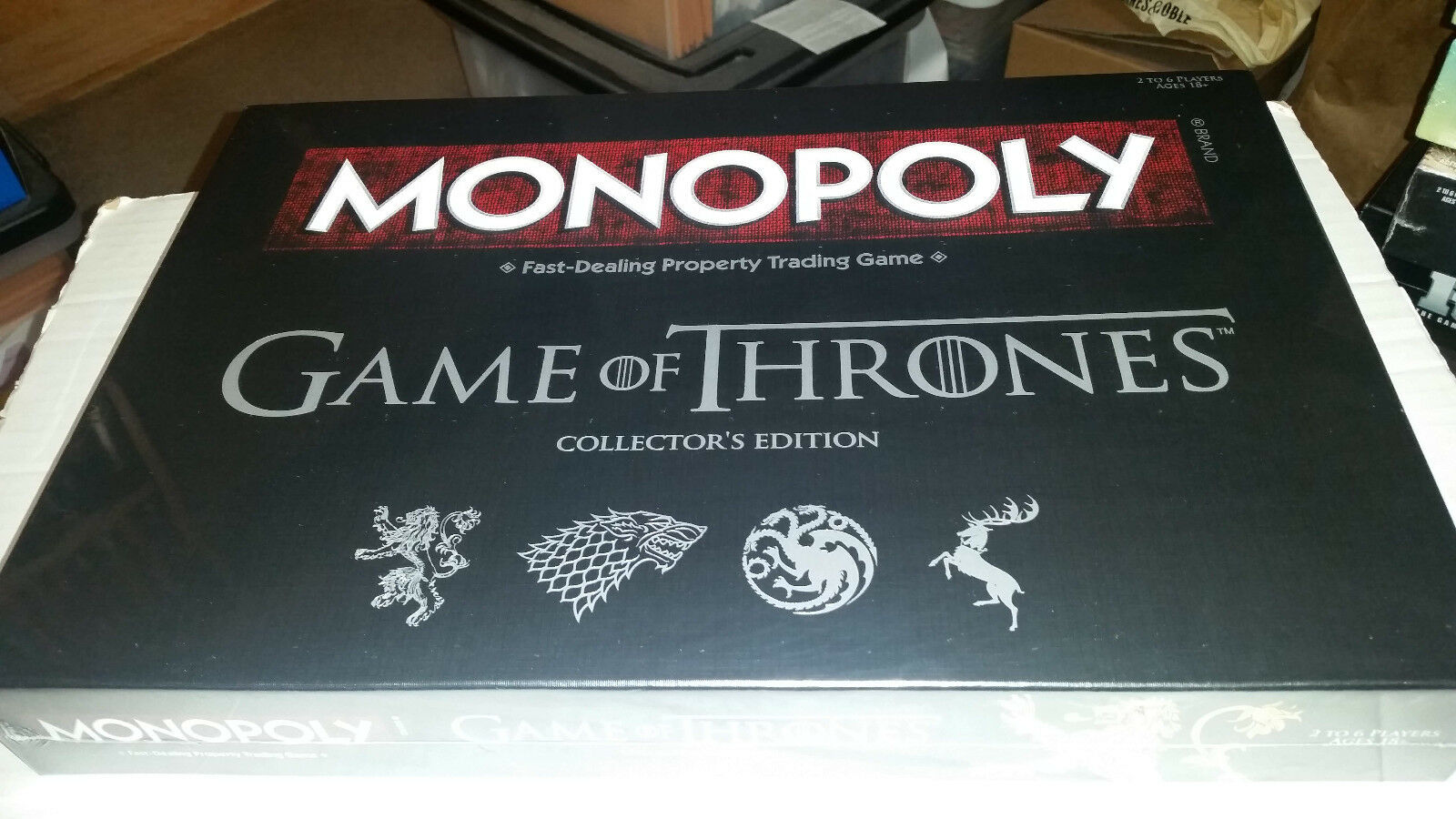 Game of Thrones Monopoly NEW SEALED
