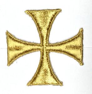 Cuadrado-Cruz-Iglesia-Sastreria-Bordado-para-Coser-2-034-Oro-C-C261-Emblema-12-PC