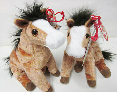 MINT with MINT TAG TY OATS the HORSE BEANIE BABY