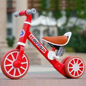Baby Balance Bike Folding Pedal Riding 1-3 Years Child Tricycle Toys for Kids