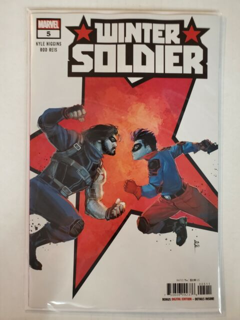 Winter Soldier #5 Marvel NM Comics Book