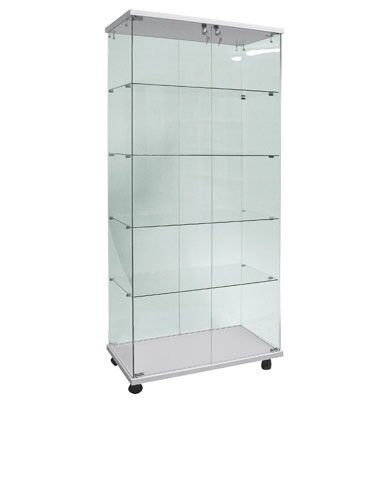 Cupboards, glass cabinets, vitrnenscharank Kristal, Sales Display Cabinet for Model, De