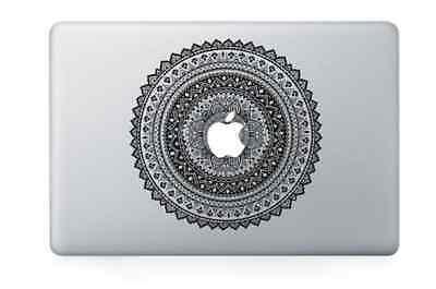 "Vintage Flower Apple Macbook Air/Pro 13"" Vinyl Sticker Skin Decal Cover"