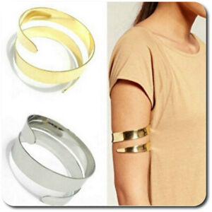 Armreif Oberarmreif Armspange Armband Hohe Arm-manchette Umarm Armbinde 3 Cm Strukturelle Behinderungen