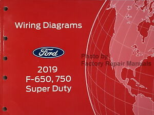2019 Ford F650 F750 Super Duty Electrical Wiring Diagrams Manual Original |  eBay | Ford F650 Transmission Wiring |  | eBay