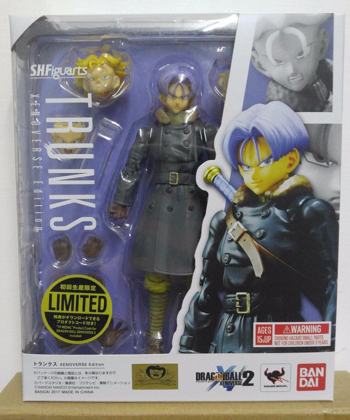 Bandai S.H.Figuarts S.H.Figuarts S.H.Figuarts SHF Dragon Ball Xenoverse Edition Trunks 177a89