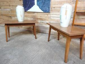 1900-1950 House Set Of Tables Elegant In Smell Antiques Careful 1960 Vintage Retro Shop