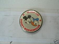 BUTTON IK BEN LID DISNEY-BOEKENCLUB MICKEY MOUSE DONALD DUCK