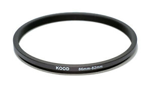 Stepping Ring 86mm - 82mm Step Down Ring 86-82mm 86mm to 82mm Ring