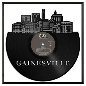 Gainesville Fl Vinyl Wall Art Cityscape Exclusive Gift Home Room