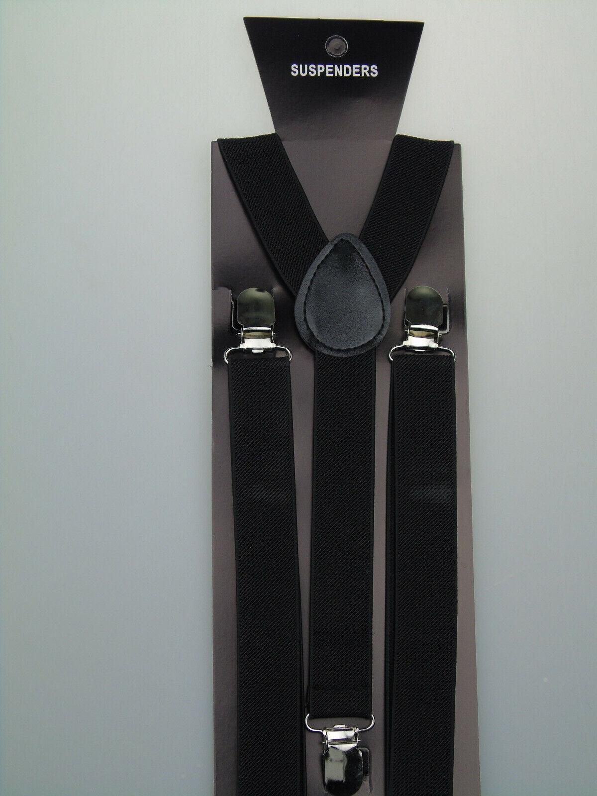Y-Form Hosenträger 25 mm breit versch.Farben wählen NEU BLITZVERSAND