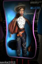 Barbie Disney Mattel Collector Doll ELLE  XXL a. Fashion Cowboy Sammlung NRFB