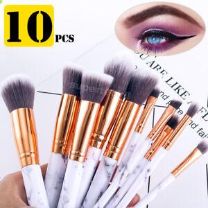 10pcs-Professional-Makeup-Brush-Set-Foundation-Blusher-Cosmetic-Make-up-Brushes