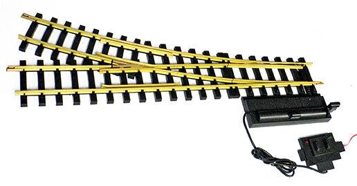 USA Trains R81720 de diámetro de 10 Pies Mano derecha interruptor eléctrico de latón Pista Nuevo