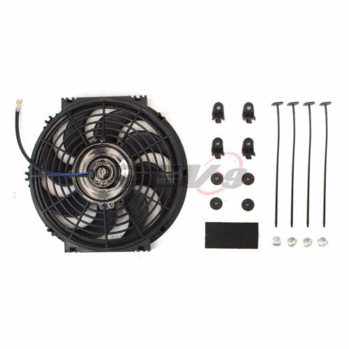 Rev9 Universal Electric Radiator Slim Fan S Blade 1000 CFM 14 in