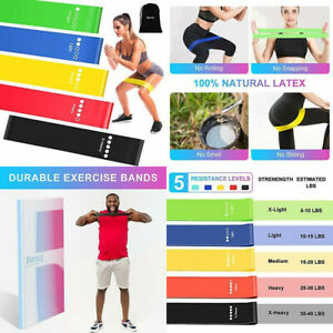 Resistance Bands, Booty Bands for Legs and Butt, Exercise color series
