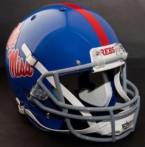 OLE MISS REBELS 1983-1994 Schutt XP Gameday REPLICA Football Helmet MISSISSIPPI
