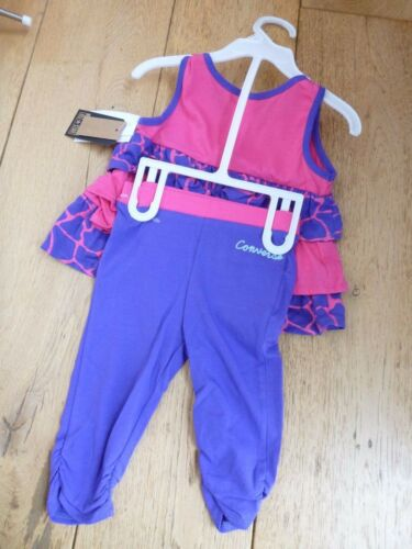 Converse 24 Pink Leggings Dress Frilly 2 Girls Star All Set Pervinca Y ww41qga