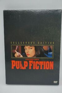 PULP-FICTION-2-DISC-COLLECTOR-039-S-EDITION-DVD-John-Travolta-Quentin-Tarantino