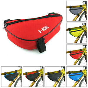 B-SOUL-Triangle-Bags-Saddle-Cycling-Bicycle-Pouch-Pannier-Bike-Front-Tube-Frame