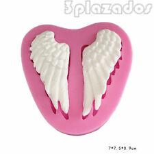 Les ailes de gel de silicone Moule à gâteau Ange sucre outil de cuisson DOS