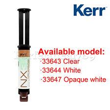 Kerr Nx3 Nexus 3rd Gen Universal Adhesive Resin Dental Cement Dual Cure Syringe
