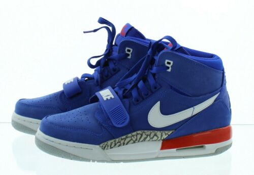 Nike Boy/'s Youth Air Jordan Legacy 312 Mid Top Shoes Sneakers AT4040 Blue