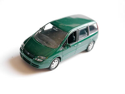 """eurovan"" Fiat Ulysse (2002-2014) Verde Verde Vert Green Metallic, Norev In 1:43!-mostra Il Titolo Originale"